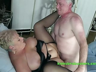 Bbw British Big Tits video: The Nurse is game for a length