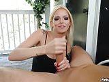 POV Lucky Boyfriend Gets His Handjob In Balcony
