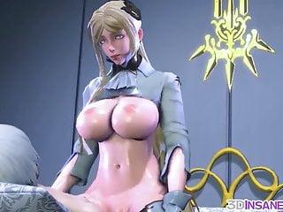 Cartoon Hd Videos video: Big tits 3D babes raw pussy drilled