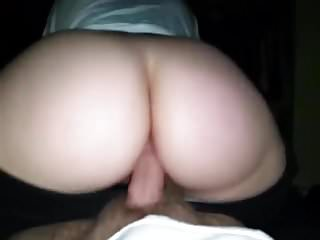 Reverse Cowgirl - Hot Babe With A Perfect Ass