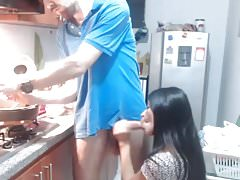 J'adore cuisiner pour les filles