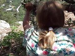 Husband Fucks Mature Milf On Hike