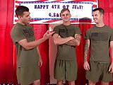 BAREBACK FUCK - Hot Straight Military Friend Group