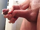 Edging and oiling for enlarging the forskin & happy end