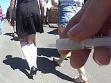 Pleated mini skirt teen
