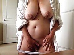 busty pervert mature masturbate 1
