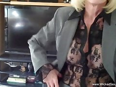 The Perfect Amateur Granny Blowjob