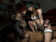 Compilazione di sesso 3D di Talim & Amy (Soul Calibur)