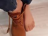 Turkish ladys feet