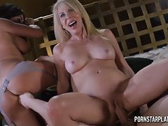 PornstarPlatinum - Erica Lauren and Claudia Valentine 3way