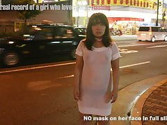 Japanese Chubby Girl Public Showcasing Slip Show6