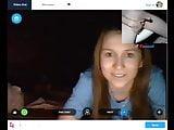 flashing some girls on webcam