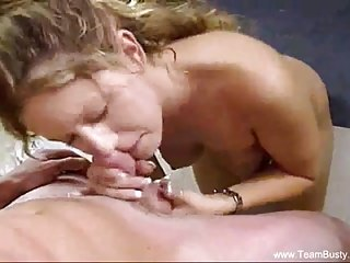 Milfs Handjobs Big Cock video: Blowjob Sunshine MILF Messy Facial
