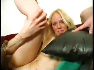 Gangbang Amateur Blondes video: Nice blonde milf Lolly gangbanged