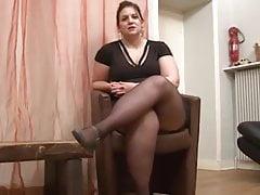 BBW sexy va au casting