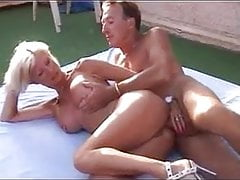 I am piercec - MILF with piercings fucked outdoors