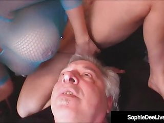 Redheads Femdom movie: Busty Brit Beauty Sophie Dee Gets Ass & Pussy Worshiped!