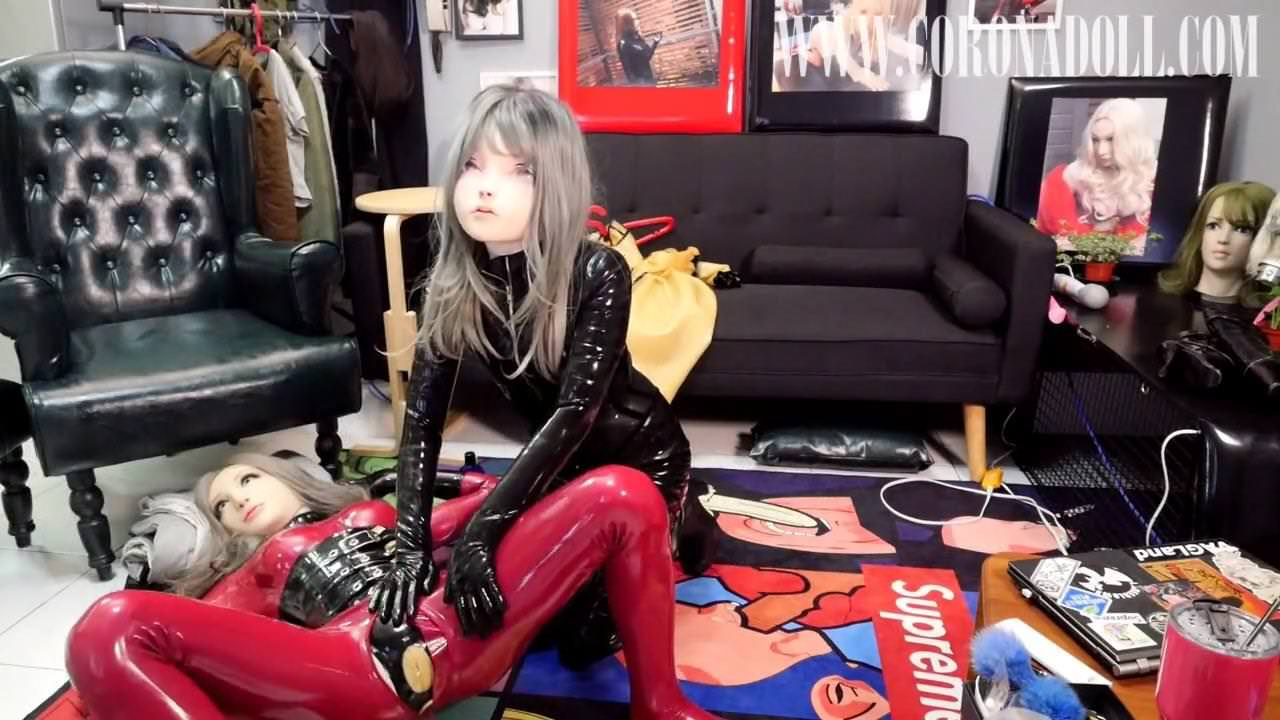 Lesbian,BDSM,Latex,Face Sitting,Skinny,CoRoNAdoLL,HD Videos
