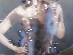 Indian actress Priyanka Chopra covered in my cum