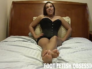 Lingerie Bdsm porno: My soft little feet need to be worshiped