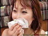 Uncensored Japanese Porn skinny petite MILF riding cock