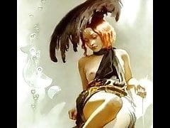 Sensuali dipinti erotici di Svetlana Valueva