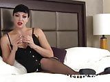 I am a cruel mistress who needs you to wear a chastity devic