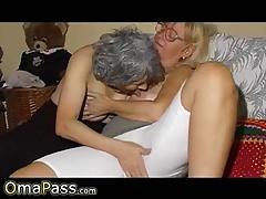 OmaPasS Video amatoriale della nonna Lesbian