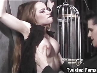 Spanking Bondage Humiliation vid: Want to take a tour of my friends dungeon