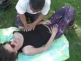 Public Bare Breast Massage