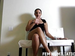 Bdsm Femdom Pov video: Pick out which pair of panties you want to wear