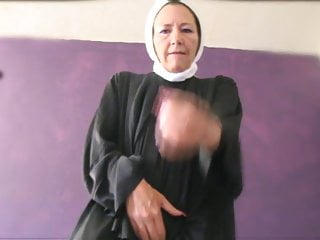 Femdom Humiliation video: fetish nun