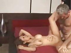 Starý muž kurva latinská dívka