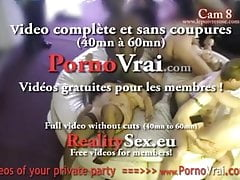 Camera espion en soiree privee ! French spycam59