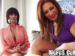 Joslyn James Sasha Summers - Privatunterricht von einem Porno
