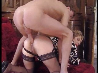German Stockings Pornstar video: Stairway to Matures