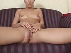 bottle masturbation-Homemade Amateur Video