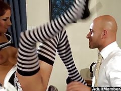 Hot Maid Oferty Pussy na lunch