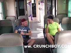 Straigth arab make love barebak a gay in train public | Porn-Update.com