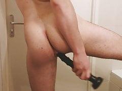 Deep anal dildo