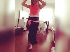 Turkish Nazli oriental dancing