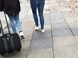 German Teen Ass in Jeans - Please comment