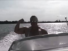 Anna Konda Female Muscle Boat Cruise