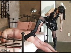 Mistress giapponese Cane Hard Her Slave
