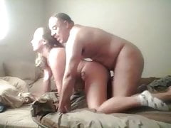 chubby couple  dogging