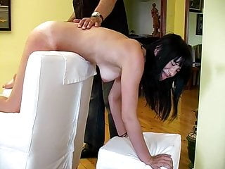 Spanking Teen Big Tits video: CMNF - Sporty tennis girl punished and spanked