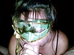green mask-Homemade Amateur Video