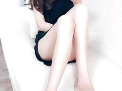 čínská noha dívka footworship