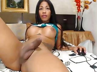 Perfect body & cock tgirl