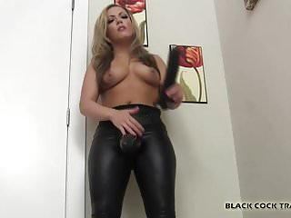I will teach your sissy ass how to handle big black cock